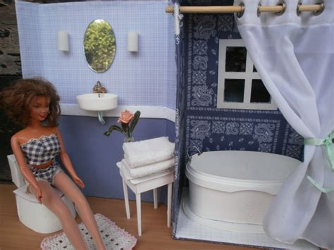 how to make a shower out of a bathtub the dancing fingers diy barbie furniture