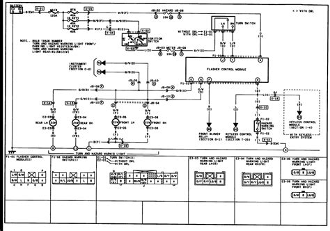 2004 mazda tribute light wiring diagrams repair wiring scheme my turn signal lights and hazzard lights are not working even after changing the fuses what
