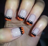 Easy Halloween Nail Design Art  Polish And Pearls