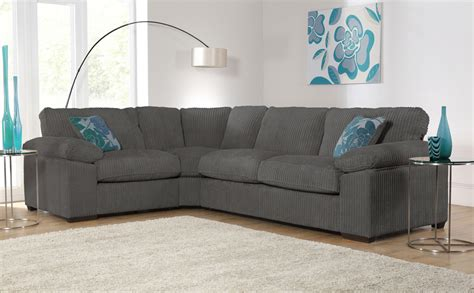 Buoyant Corner Sofa by Buoyant Charcoal Fabric Corner Sofas Only 163 919 99