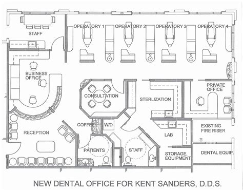 dental office floor plans t michael hadley architect sedona arizona