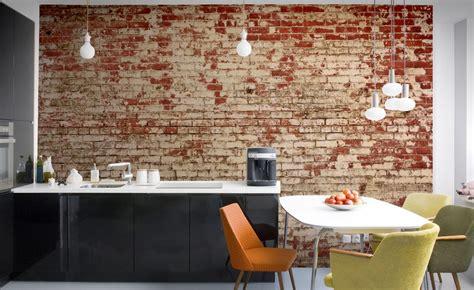 Realistic Wall Murals cool finds murals brick effect wallpaper apparatus