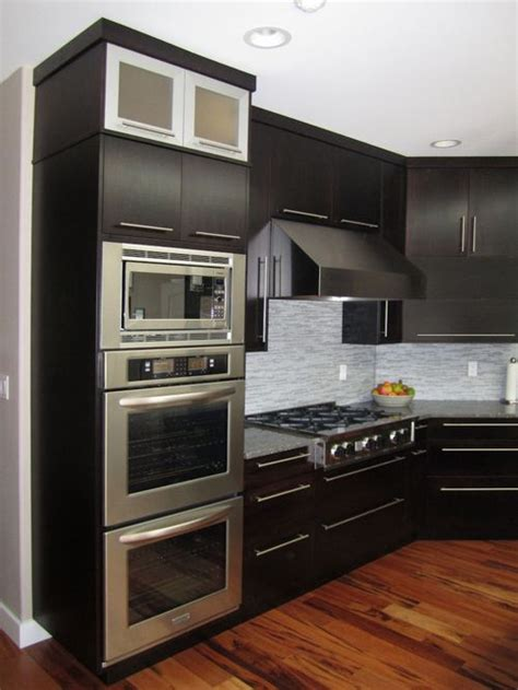 double oven kitchen cabinet double oven microwave cabinet home design ideas pictures
