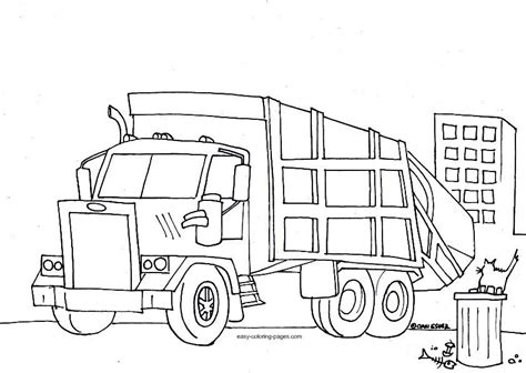 garbage truck coloring pages to print garbage truck coloring pages free google search spring