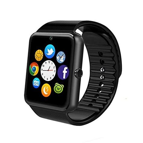 Sale Smartwatch Gt08 Black Smart Gt08 Sim Sms gt08 bluetooth smart for android phones smart