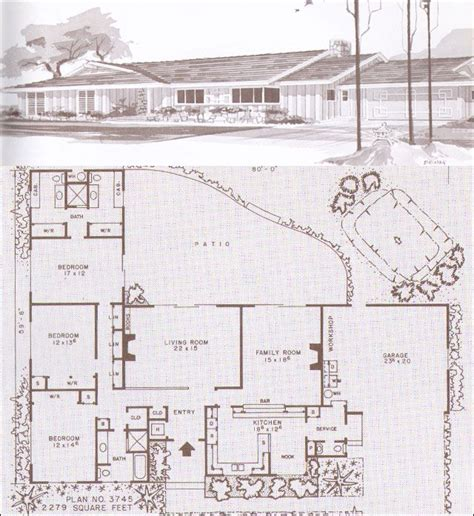 mid century modern ranch house plans pin by jill rinard on for the home pinterest