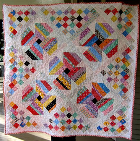 Patterns For Quilts by Free Scrap Quilt Pattern