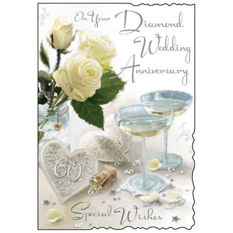 Wedding Anniversary Wishes Uk by On Your Wedding Anniversary Special Wishes Ebay