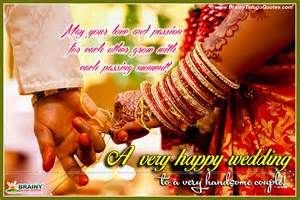 Wedding Wishes English English 2016 New Marriage Anniversary Wedding Day Messages And Quotes Brainyteluguquotes