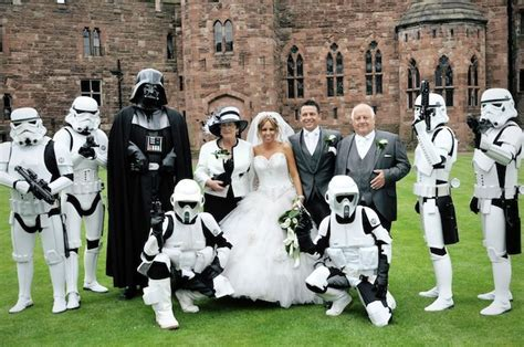 StarWars Wedding   If I could get away with it I would so