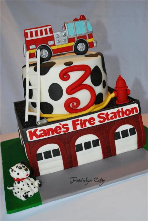 me a picture of a truck truck theme birthday cake all decorations are fondant