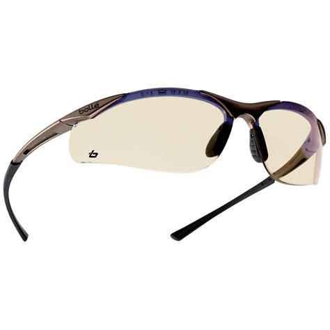 a bolle bolle 40047 contour safety glasses gunmetal frame