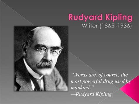 biography rudyard kipling rudyard kipling