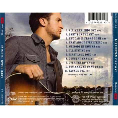 luke bryan first album i ll stay me luke bryan mp3 buy full tracklist
