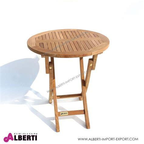 tavoli rotondi da giardino tavolo rotondo piegh d70x75cm