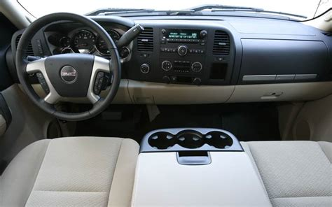 2007 gmc sierra interior view photo 23