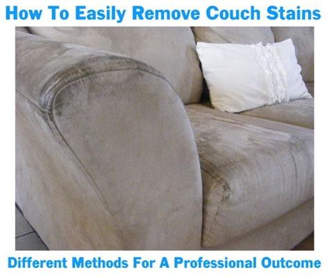 couch stain removal how to clean couch cushions that cannot be removed easy
