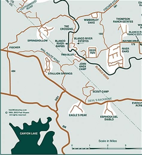 wimberley texas map detailed map of the wimberley texas area