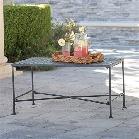 black iron outdoor table kent outdoor black iron coffee table forrealdesigns