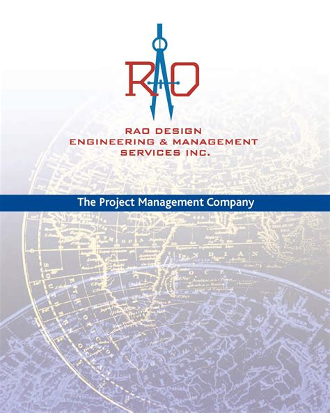 design management experience rao design management services is a project management