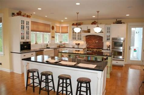 country kitchen designs with islands island kitchen house plans backsplash classic