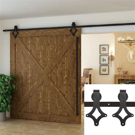 closet door prices 6 ft black antique style sliding barn wood door hardware closet set low price