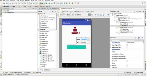 android layout editor xml android studio stop working when edit xml layout file