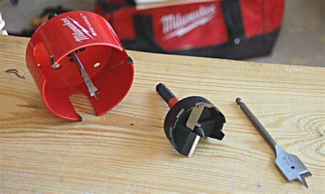 wood boring spade bits hole saws   feed bits