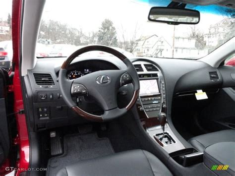 lexus interior 2012 black interior 2012 lexus es 350 photo 58351813