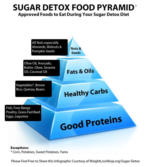 Sugar Detox by Sugar Detox Food Pyramid Detox