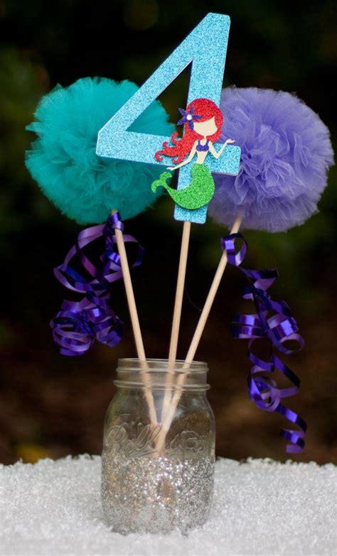 1000 ideas about mermaid centerpieces on mermaid birthday ideas