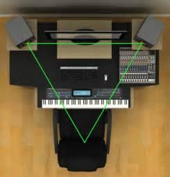 sound 101 studio monitors proper monitor set up is
