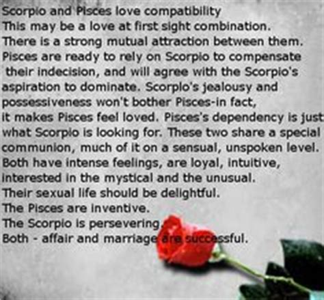 pisces and scorpio quotes quotesgram