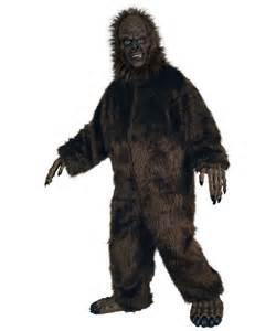 bigfoot halloween costumes for adults big foot costume