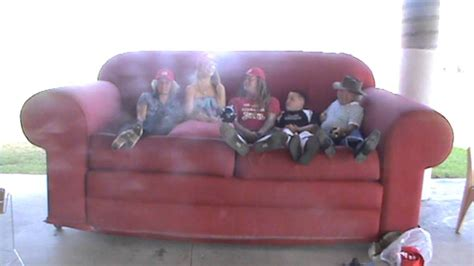 largest couch sami on the worlds biggest couch with the living poet