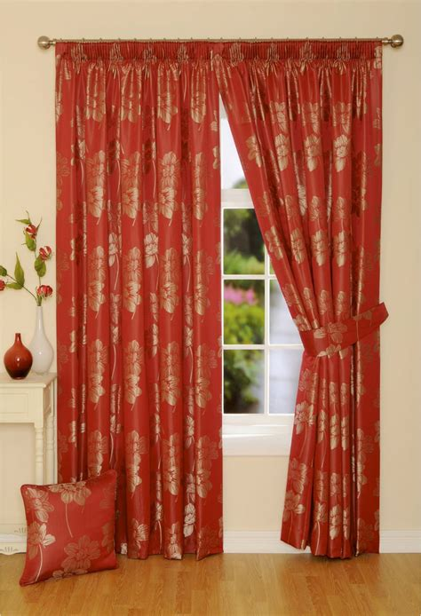 red lined curtains ready made curtains woodyatt curtains
