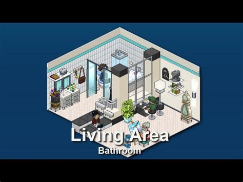 Small Bathroom Designs Ideas by How To Build A Habbo Bathroom Youtube