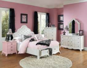 girls full size bedroom sets home furniture design huey vineyard traditional black finish 5 pc full size