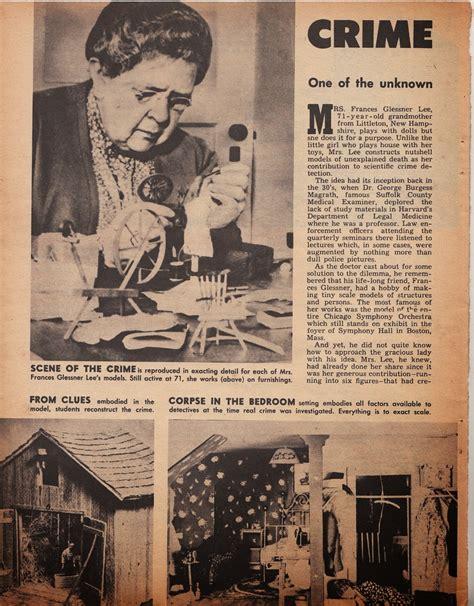 the doll house murders the miniature dollhouse murder scenes of frances glessner lee folk art forensics
