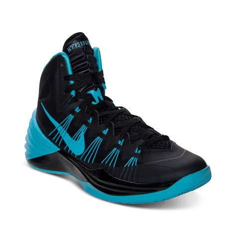 nike mens hyperdunk basketball sneakers from finish line in black for lyst