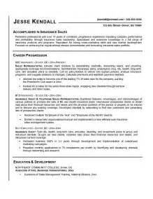 Resume Wording Sles by Resume Wording For Sales Representative