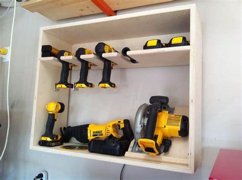 Power Tool Storage Garage Journal Cordless Power Tool Storage Station By Nwbusa