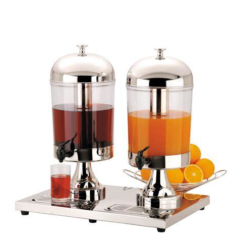 Dispenser Juice 2x8 litre chilled juice dispenser for restaurants
