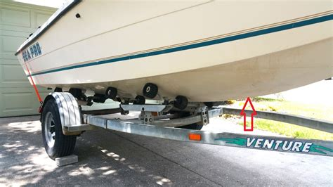 boat lift keel support safely lift boat off trailer question the hull truth