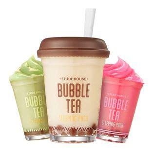 buy etude house buy etude house bubble tea sleeping pack 100g yesstyle