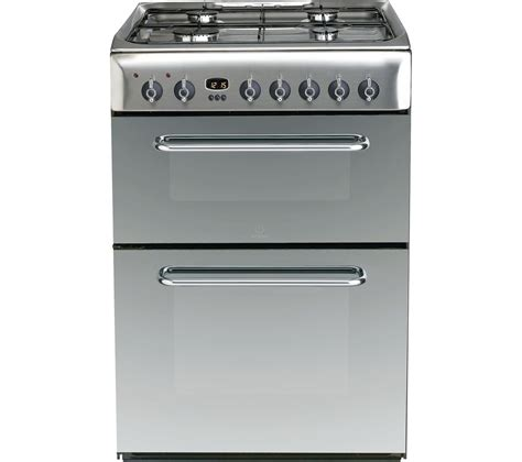 Jual Oven Gas Stainless by Buy Indesit Kdp60ses 60 Cm Dual Fuel Cooker Mirror