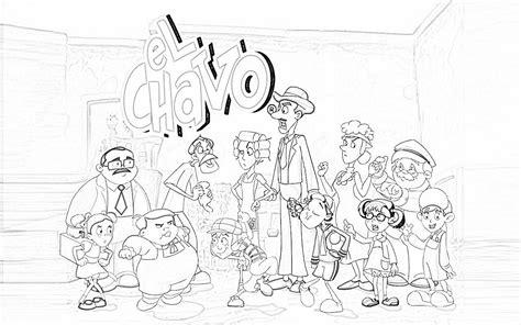 el chavo del ocho para colorear dibujos del chavo animado para colorear dibujos colorear
