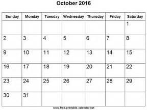 Blank Calendars For Kids » Home Design 2017