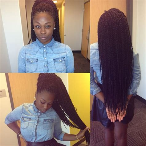 ear length styles with micro braids 154 best senegalese twist images on pinterest african