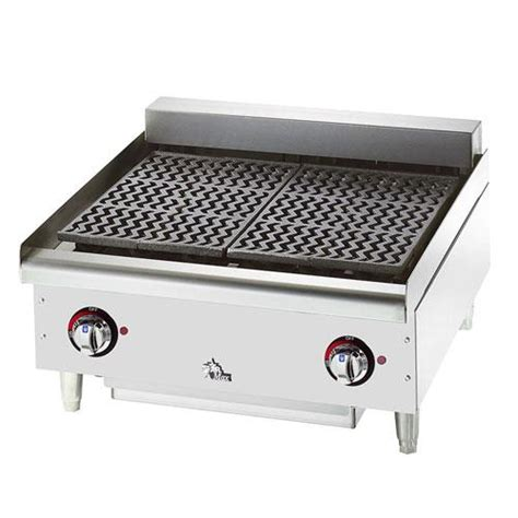 Countertop Broiler by Manufacturing 5124cf Max 174 24in Charbroiler Etundra